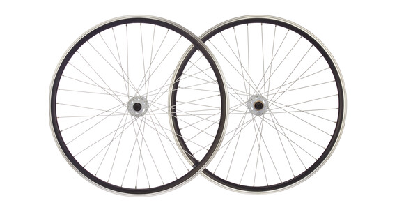 "Point SingleSpeed Cykelhjul 28"" hvid/sort"